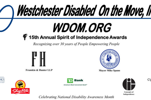 Spirit of Independence Award Sponsor banner 2016