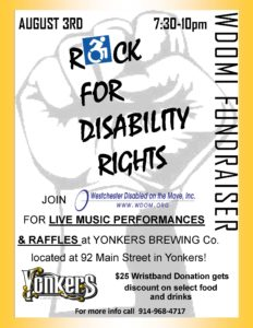 Rock Fundraiser Flyer