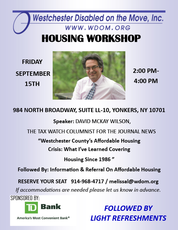 Housing workshop September 2017